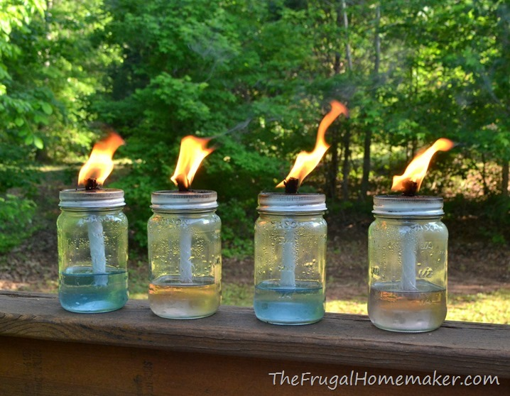 Diy mason jar outdoor lights outdoor designs diy mason jar tiki torches 5 minute project diy outdoor lights apieceofrainbowblog 1 aloadofball Image collections