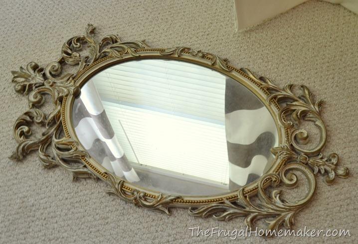 mirror from estate sale