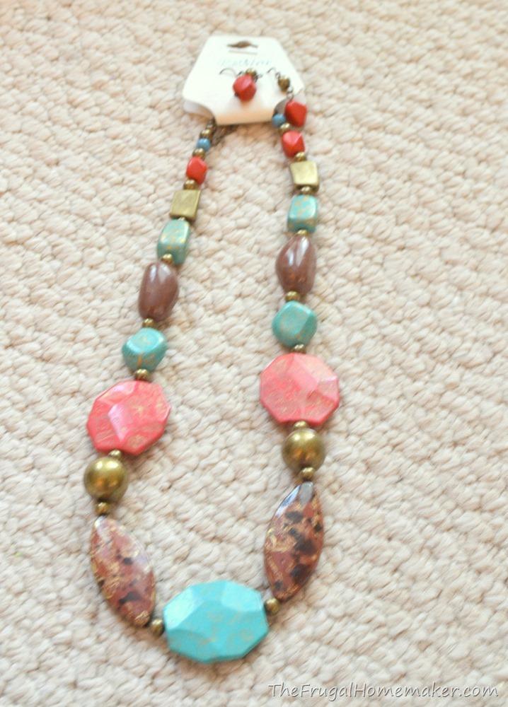 yard sale necklace