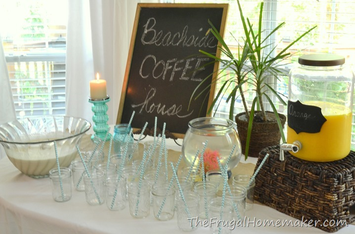 brunch decorating ideas table bridal brunch at the beach beach themed wedding shower shower