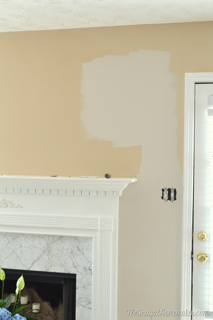 Charming New Paint In Living Room   Wheat Bread By Behr