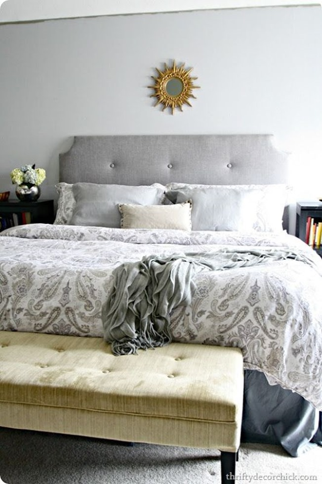 Master bedroom inspiration for Thrifty decor