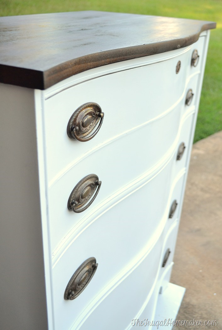 Dresser Makeover How To Fix Chipped Veneer Deal With