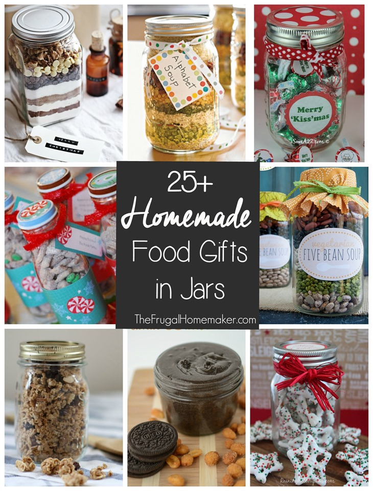 Already baked christmas gifts for mason jars