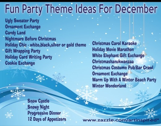 Christmas party themes