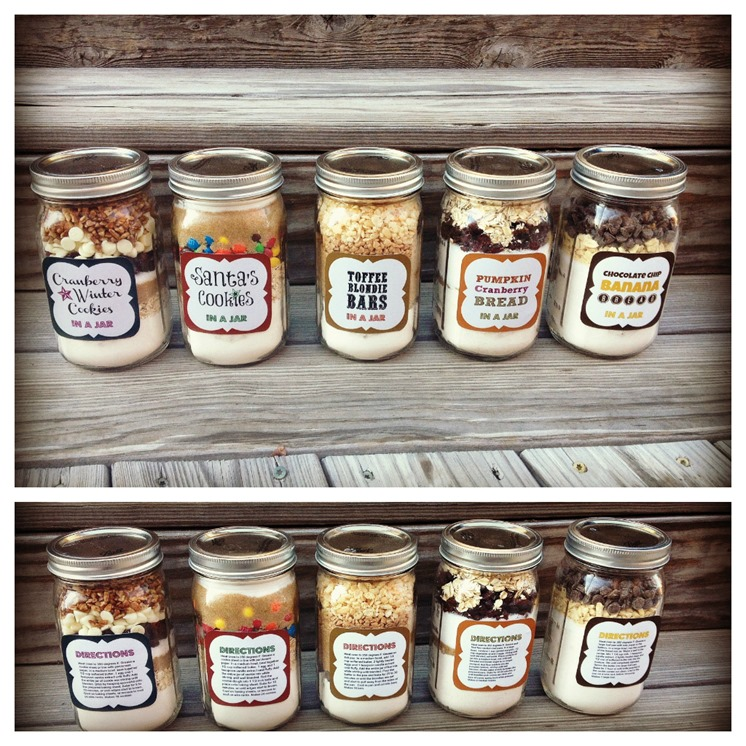 25 homemade food gifts in a jar 31 days to take the for Homemade gifts in a jar for men