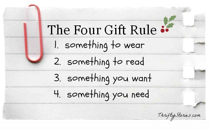 i loved this graphic on how to keep christmas spending simple but it can also be applied to gift giving as well