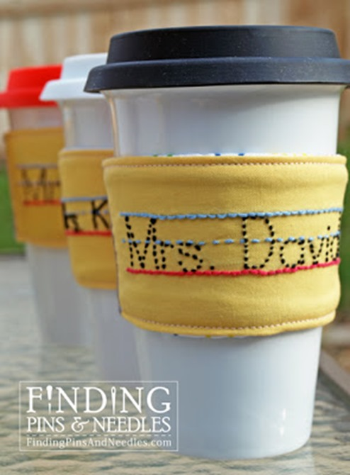 pencil drink sleeve