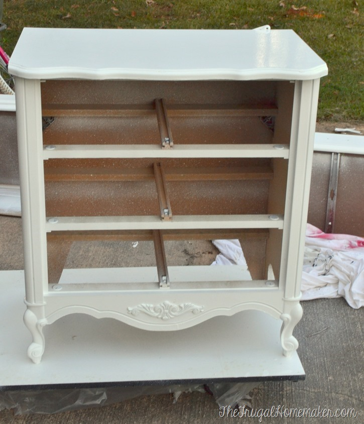Painted nightstand - in process (1)