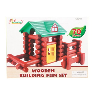 wooden building set