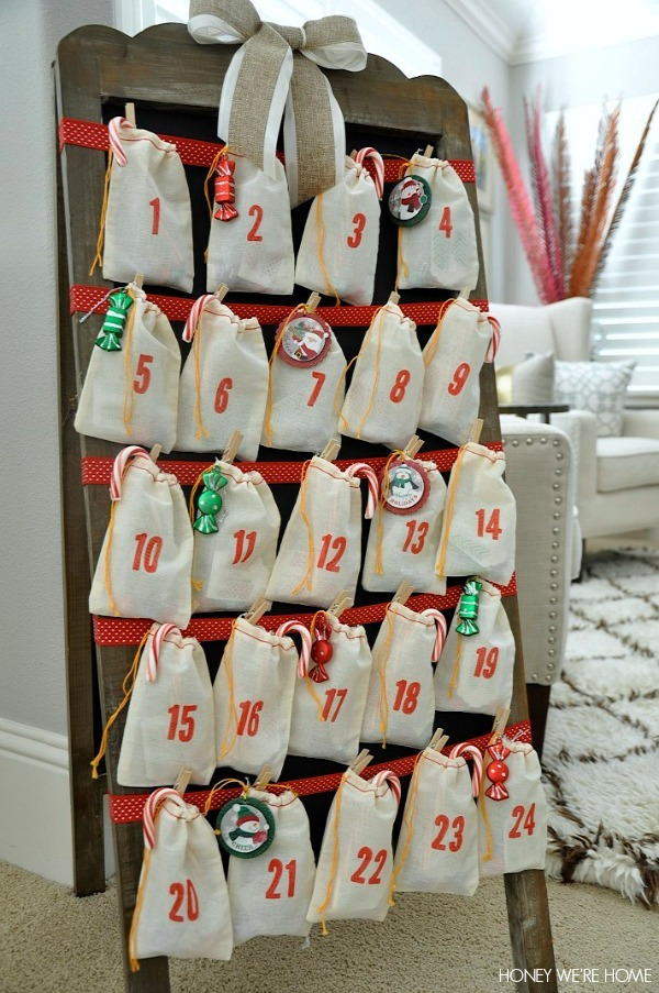 DIY Advent Calendar ideas (Christmas countdown)