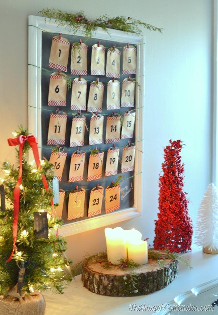 DIY Christmas Countdown Calendar (Advent Calendar)