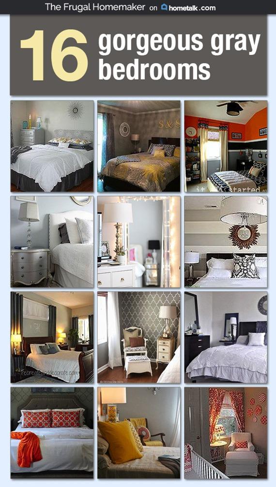 Hometalk 16 Gorgeous Gray Bedrooms