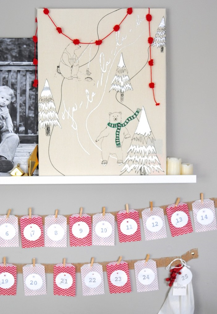 Diy Calendar Crafts : Diy advent calendar ideas christmas countdown