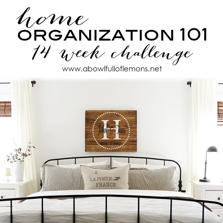 Home-Organization-101-14-Week-Challenge