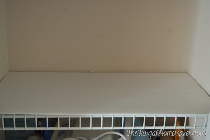 to change up wire shelves for less than $10