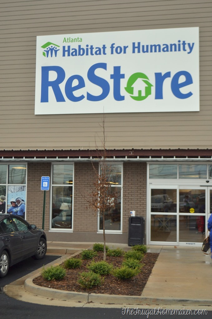 Shopping at a Habitat for Humanity Restore