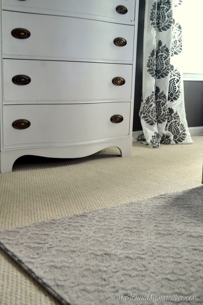 Adding a Mohawk SmartStrand bound carpet to our master bedroom