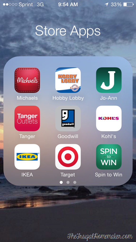 Saving money with my favorite shopping apps