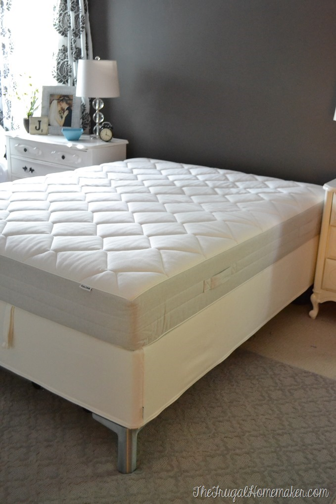 My thoughts on our ikea mattress sultan hallen ikea mattress for Ikea queen size box spring