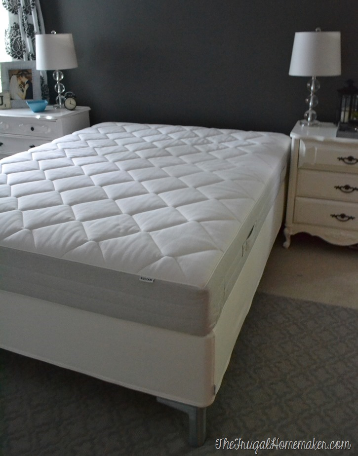 reviews mattress the ikea morgedal mattresses sleepopolis up close cover shot of