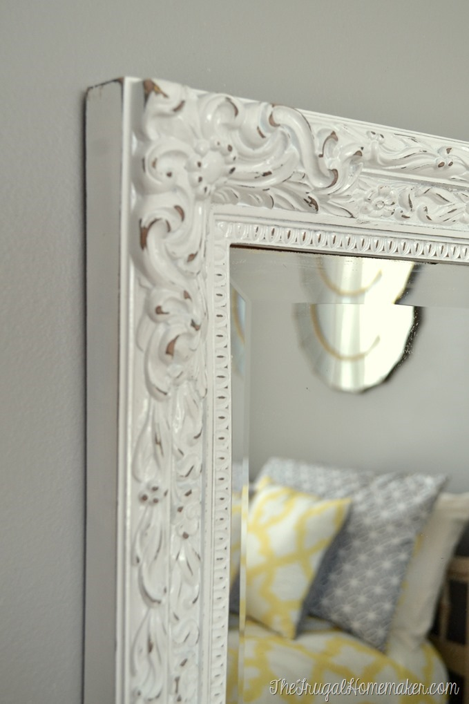 mirror mirror on the wall it s time for your second spray paint. Black Bedroom Furniture Sets. Home Design Ideas