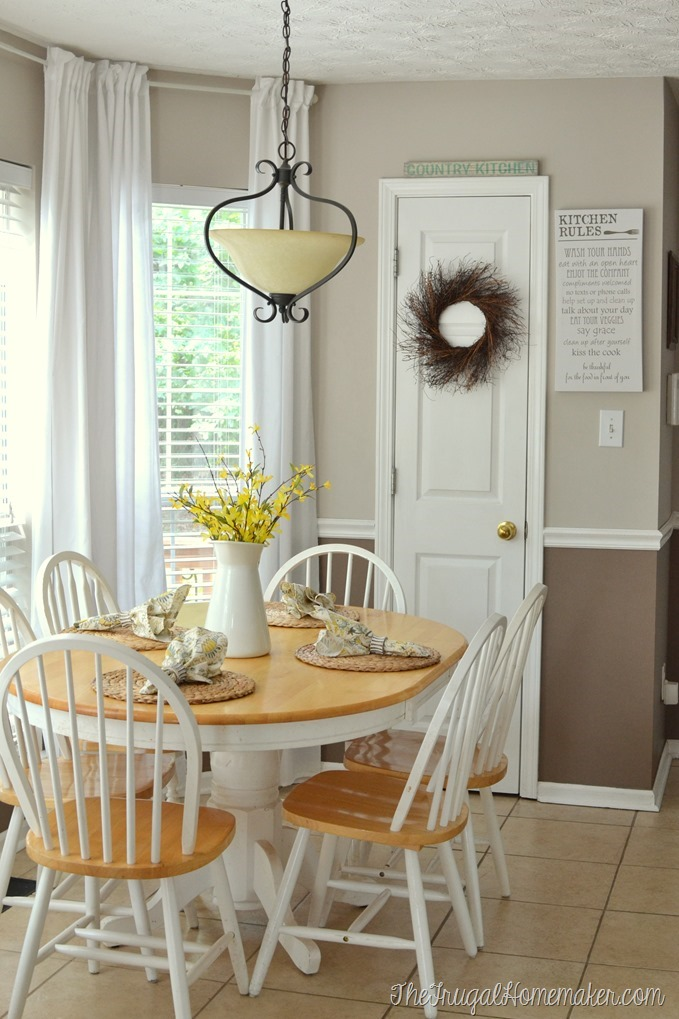 Breakfast area paint colors–help me decide!