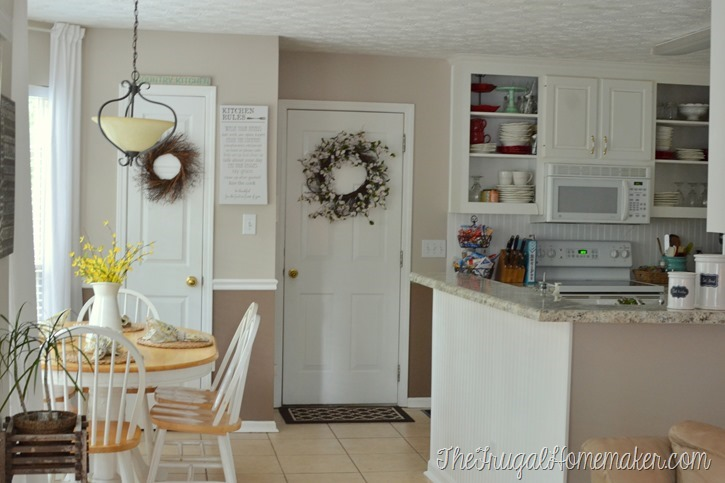 Breakfast area paint colors–help me decide!
