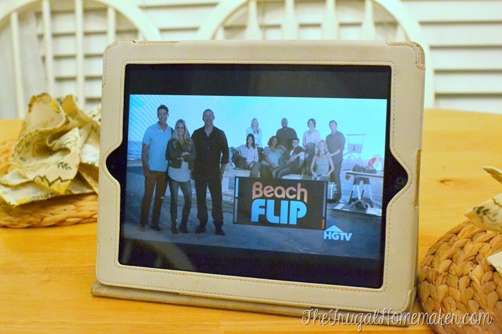 Watching Beach Flip while I DIY (and why we don't fight over the remote anymore)