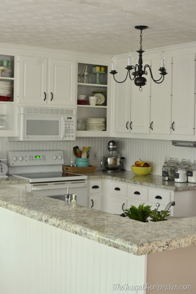 How To Re Paint Your Yucky White Cabinets