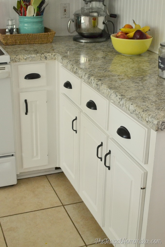 Well-liked How to re-paint your yucky white cabinets SB55