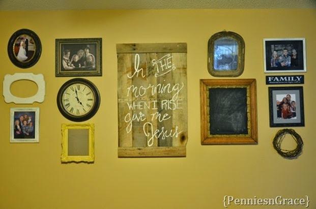 Molly's loft gallery wall