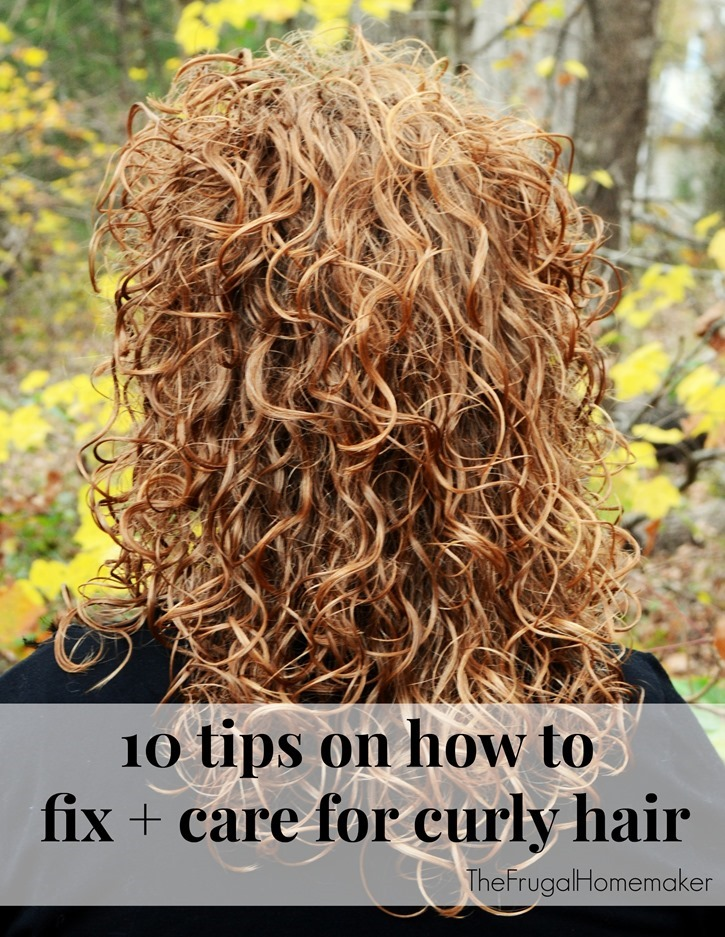 10 tips for how to fix and care for curly hair