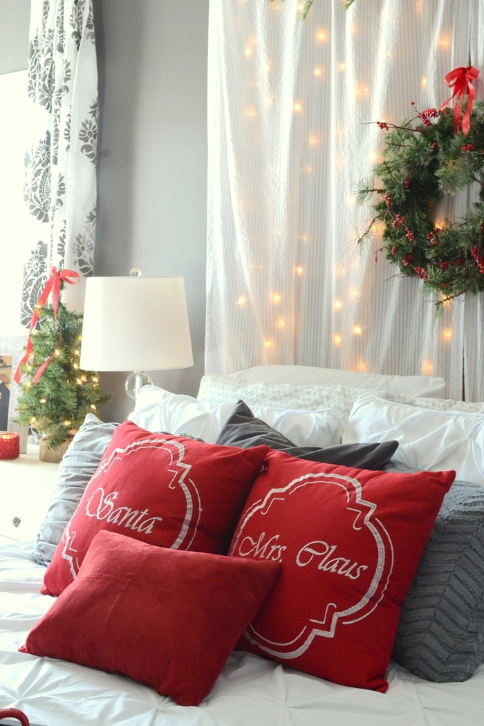 Romantic Christmas Bedroom