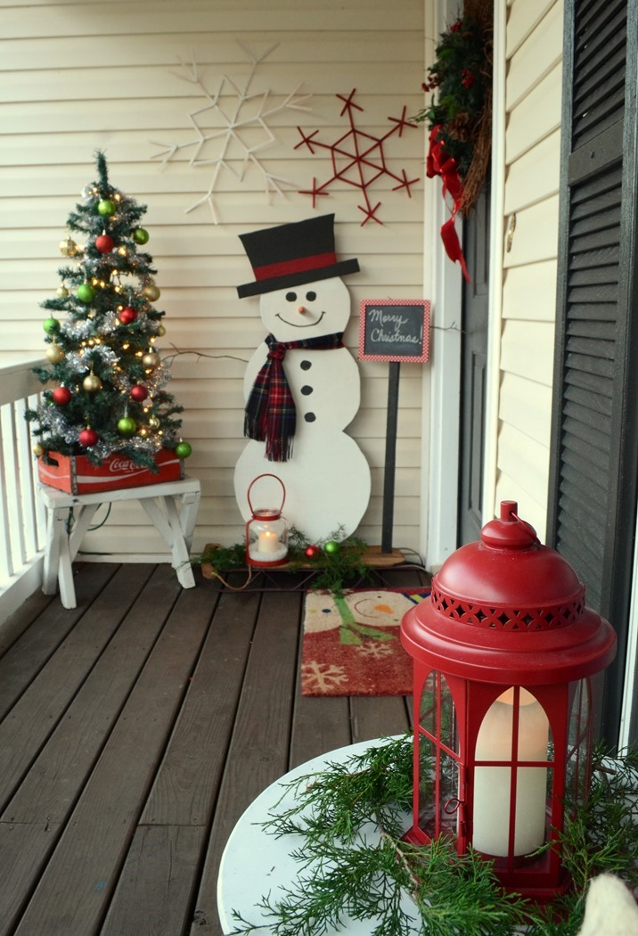 diy painted wood snowman - Painted Wood Christmas Yard Decorations