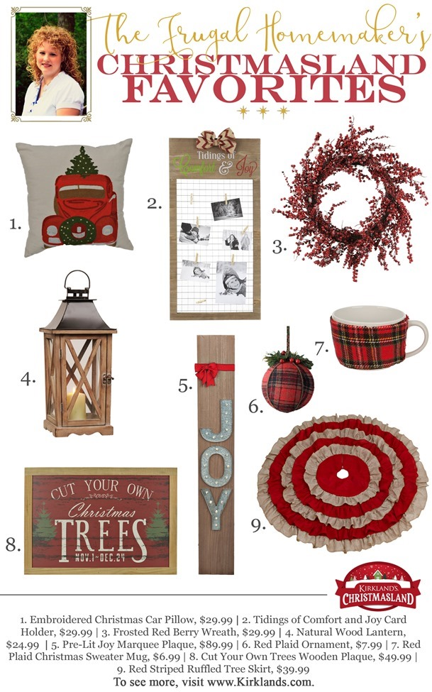TheFrugalHomemaker Christmasland Favorites