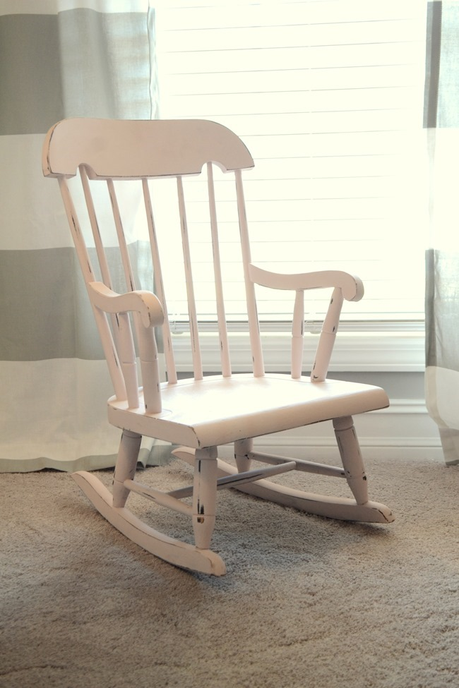 Little Pink Rocking Chair