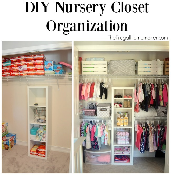 Nursery closet organizer pinterest baby shoe closet for How do you organize your closet