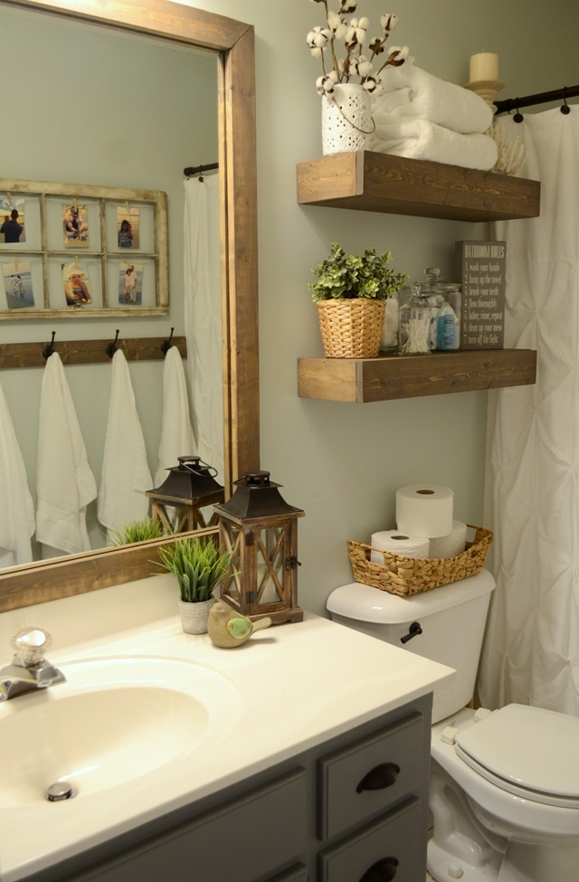 Small Bathroom Decorating Ideas Pinterest