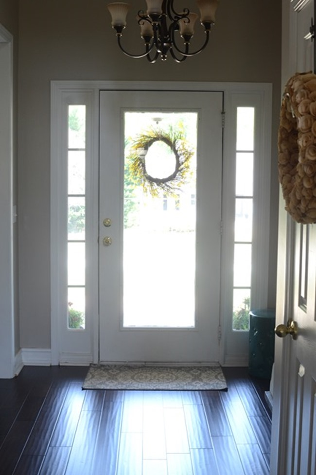 Painting The Inside Of The Front Door Black