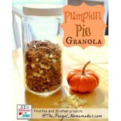 Pumpkin Pie Granola