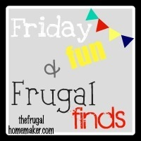 Friday fun + Frugal Finds: 1/2 price day at Goodwill and Value Village