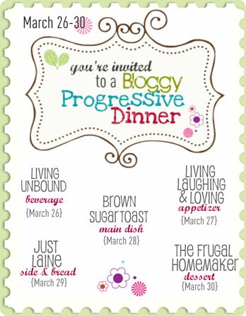 Bloggy Progressive Dinner Poster (1)