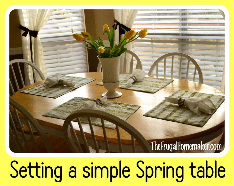 A simple Spring table