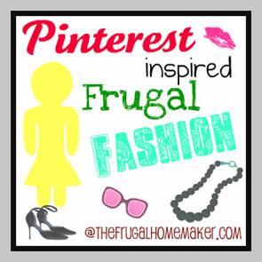 Pinterest frugal fashion