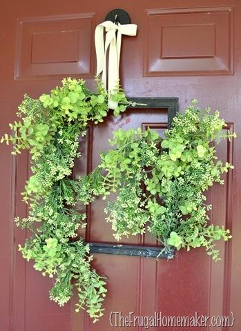 Green wreath fix + some blog updates