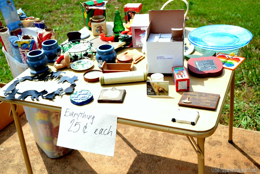 garage sale setup ideas - 8 Tips for hosting your own yard sale How to shop yard
