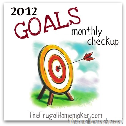 July goals update and goals for August