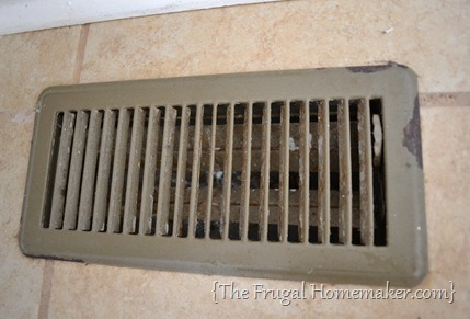 Update your vent covers with spray paint!