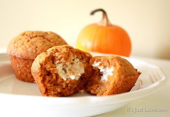 Laine's pumpkin muffins